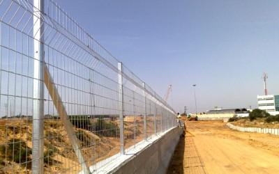 גדר רשת מרותכת 1.5